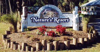 Natures Resort Caters To Our RV Vacationers With Beautiful And Accommodating Sites Full Hookups Concrete Pads In Wooded Areas